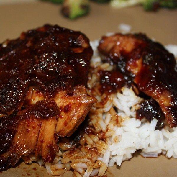 Boneless Skinless Chicken Thighs Slow Cooker  Boneless Chicken Thigh Recipes