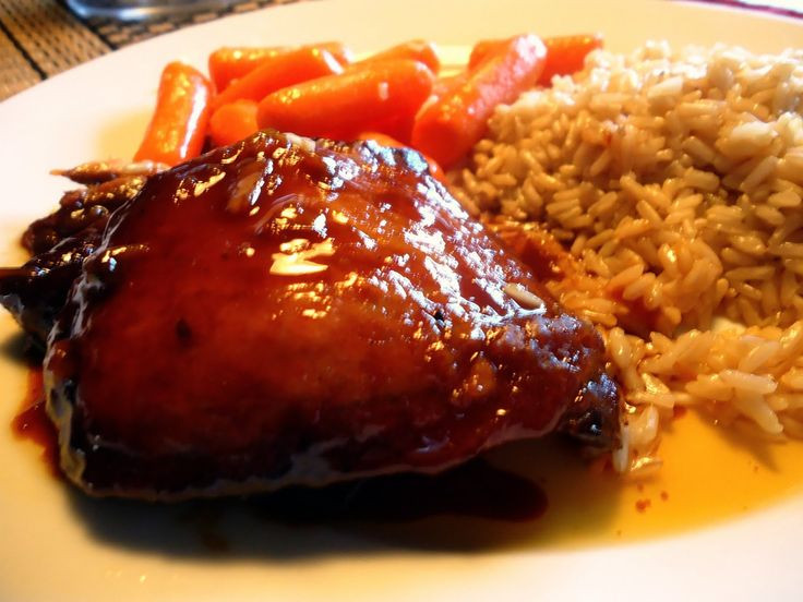 Boneless Skinless Chicken Thighs Slow Cooker  Slow Cooker Orange Chicken Source Kraft Food & Family 4
