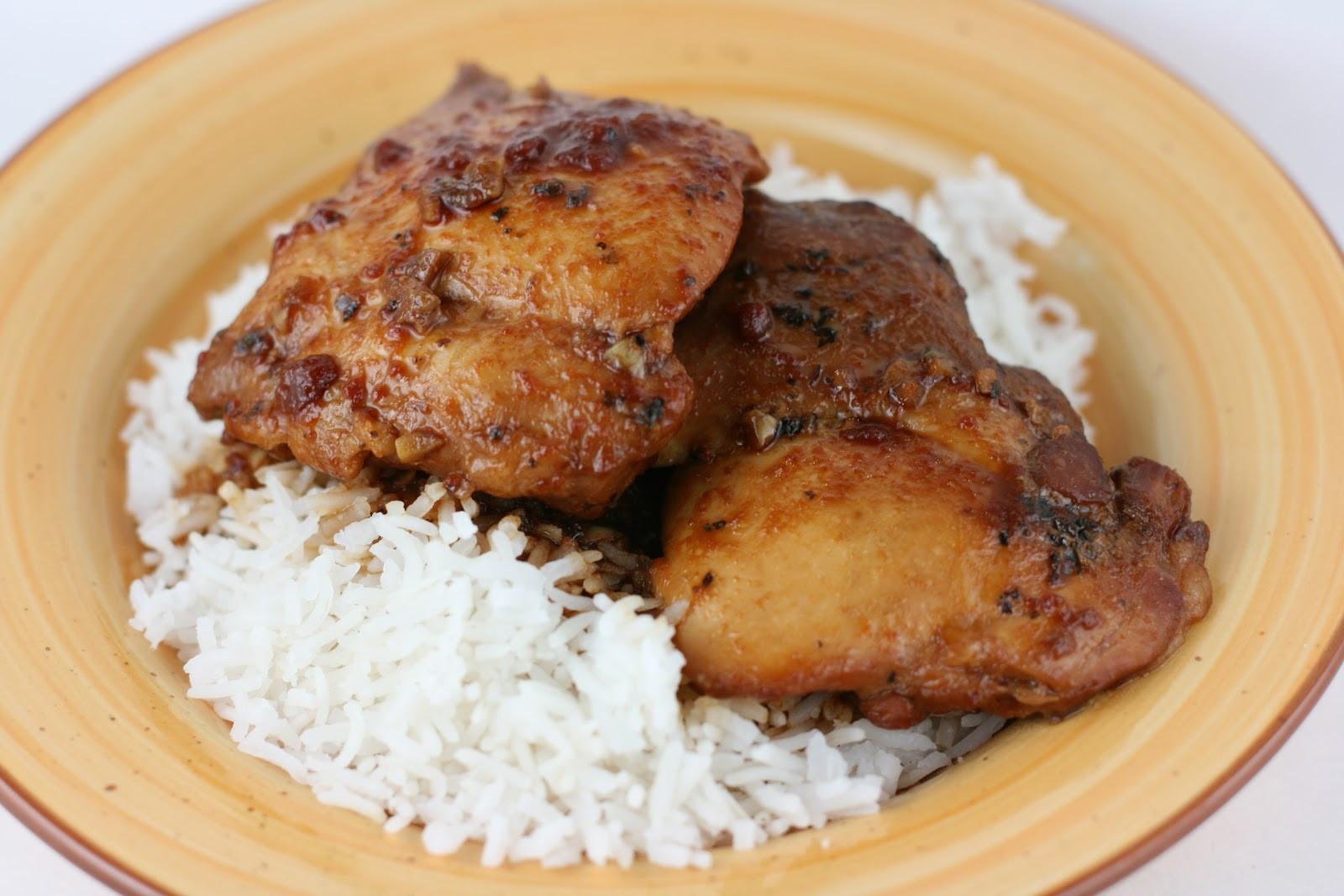 Boneless Skinless Chicken Thighs Slow Cooker  Honey Garlic Chicken Slow Cooker Recipe A Year of Slow