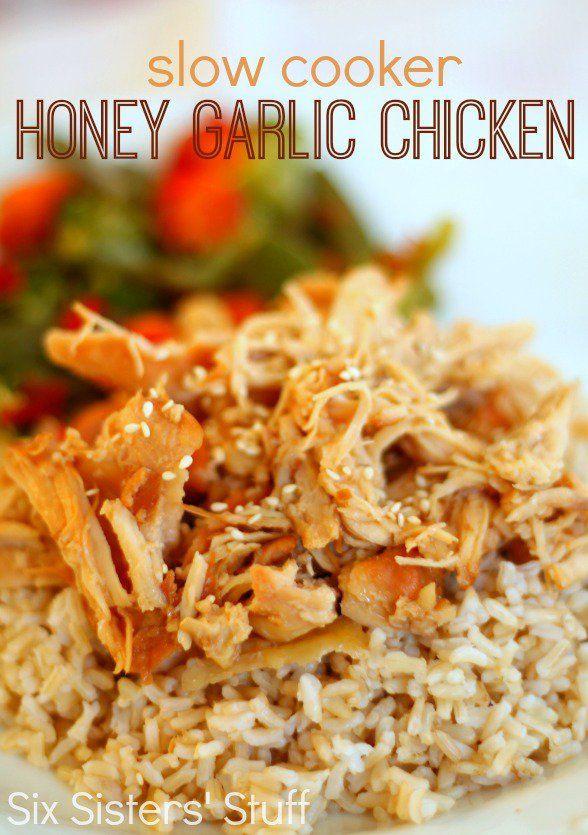 Boneless Skinless Chicken Thighs Slow Cooker  Slow Cooker Honey Garlic Chicken Recipe
