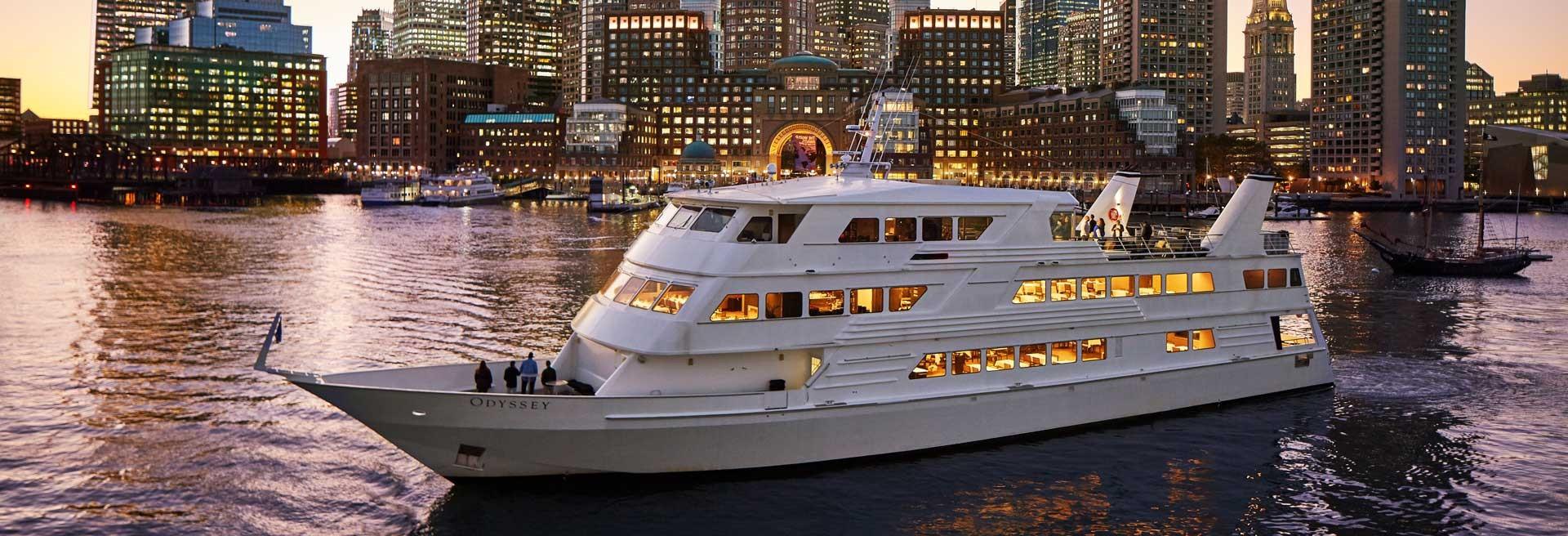 Boston Harbor Dinner Cruises  Boston Harbor Views Great Dining and Entertainment