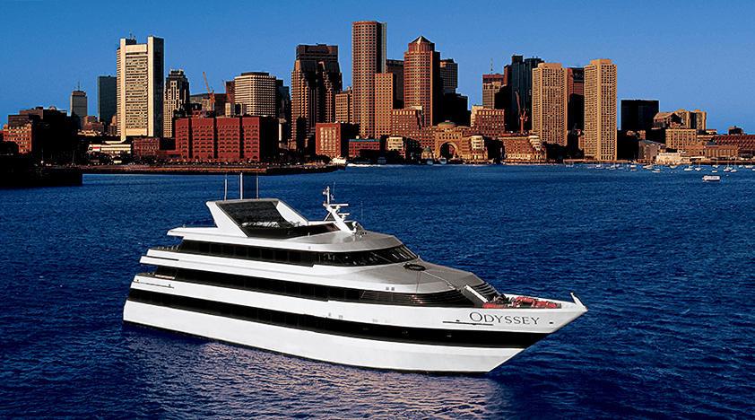 Boston Harbor Dinner Cruises  Boston Odyssey Dinner Cruise