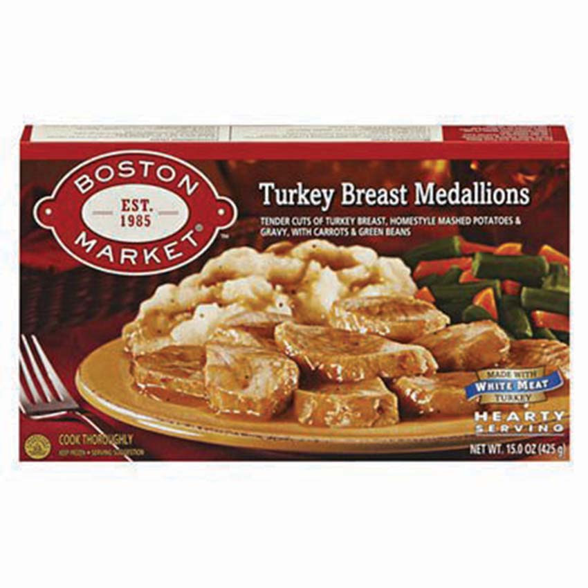 Boston Market Frozen Dinner  11 13 Let s talk turkey… frozen dinner style