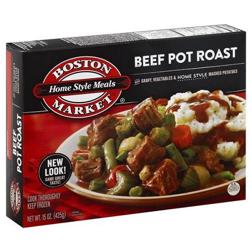 Boston Market Frozen Dinner  Boston Market Frozen Dinners Beef Pot Roast 15 oz