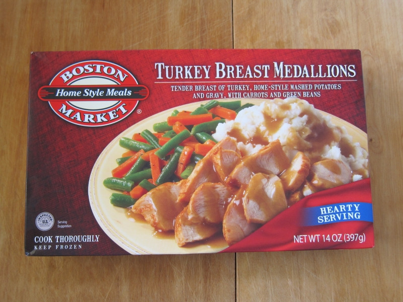 Boston Market Frozen Dinner  Frozen Friday Boston Market Turkey Breast Medallions