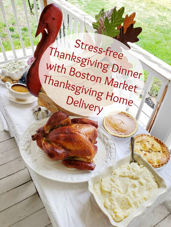 Boston Market Thanksgiving Dinner  Stress free Thanksgiving Dinner with Boston Market