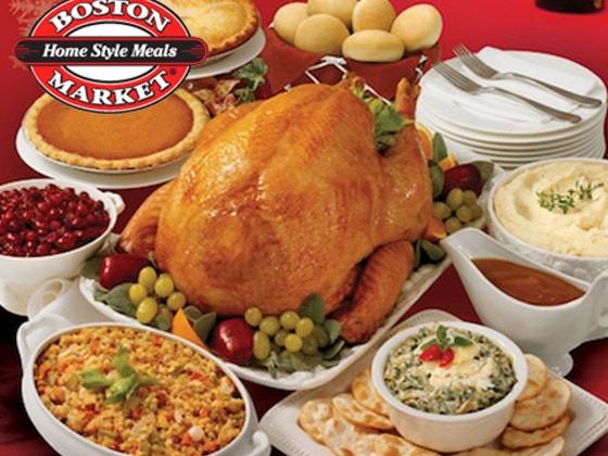 Boston Market Thanksgiving Dinner  Win a Thanksgiving Dinner from Boston Market Sweepon