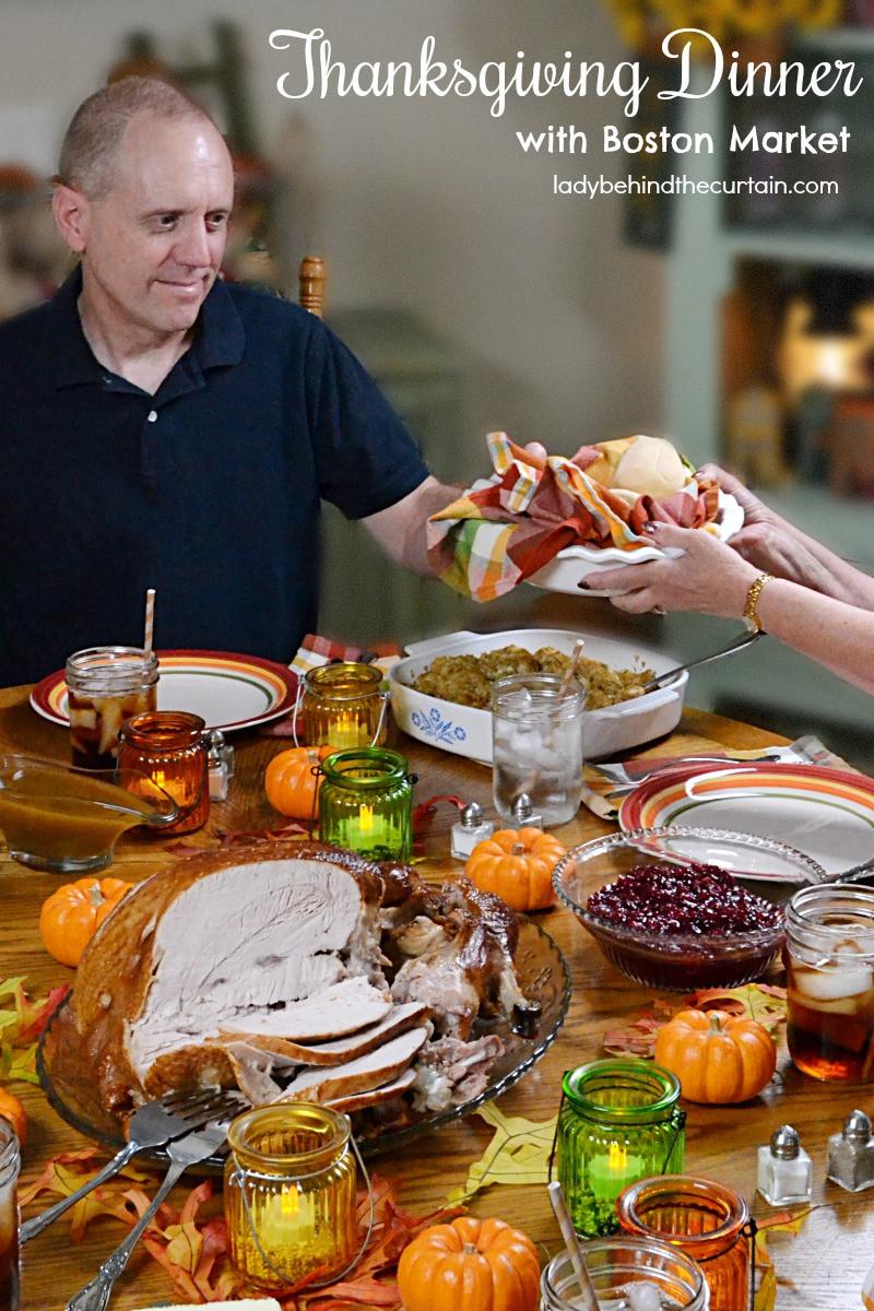 Boston Market Thanksgiving Dinner  Thanksgiving Dinner with Boston Market