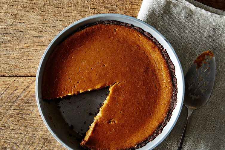 Bourbon Pumpkin Pie  Bourbon Pumpkin Pie Recipe on Food52