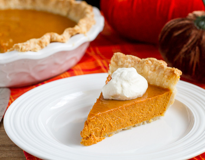 Bourbon Pumpkin Pie  Boozy Bourbon Pumpkin Pie