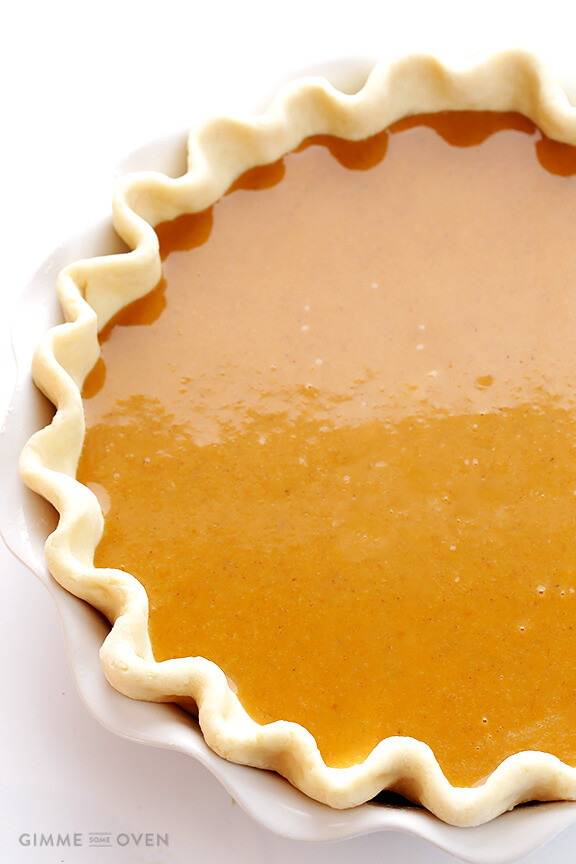 Bourbon Pumpkin Pie  Bourbon Pumpkin Pie