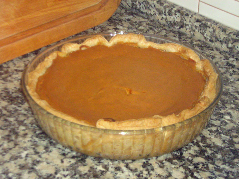 Bourbon Pumpkin Pie  Bourbon Pumpkin Pie Recipe