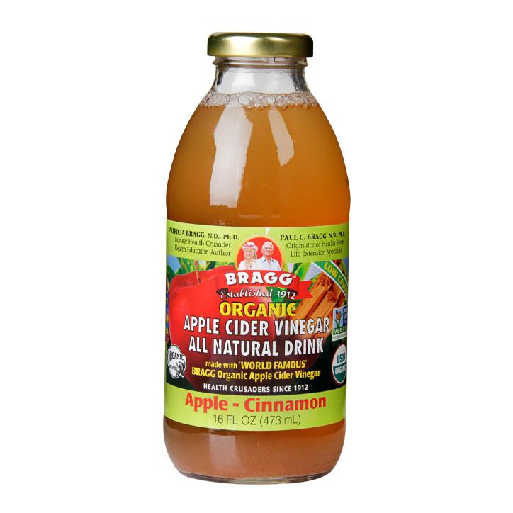 Braggs Apple Cider Vinegar Drink  Bragg Ready To Drink Apple Cider Vinegar Apple Cinnamon