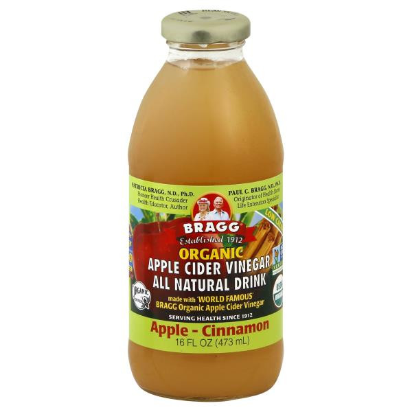 Braggs Apple Cider Vinegar Drink  Bragg Apple Cider Vinegar Drink Organic Apple Cinnamon
