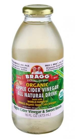 Braggs Apple Cider Vinegar Drink  Bragg Organic Apple Cider Vinegar Drink Sweet Stevia 16
