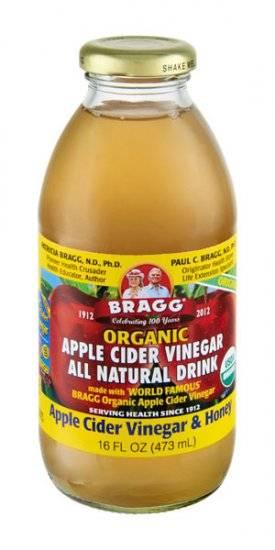 Braggs Apple Cider Vinegar Drink  Bragg Organic Apple Cider Vinegar Drink 16 oz 12 Pack
