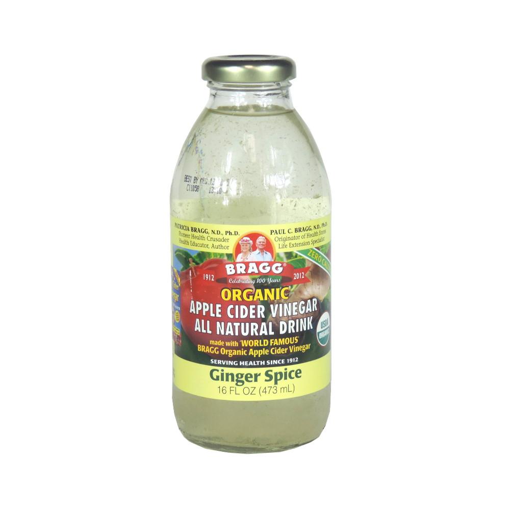 Braggs Apple Cider Vinegar Drink  Bragg Organic Apple Cider Vinegar Drink Ginger Spice