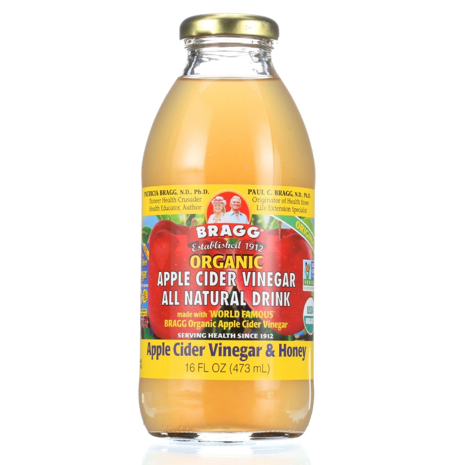 Braggs Apple Cider Vinegar Drink  Bragg Apple Cider Vinegar Drink Organic ACV and Honey
