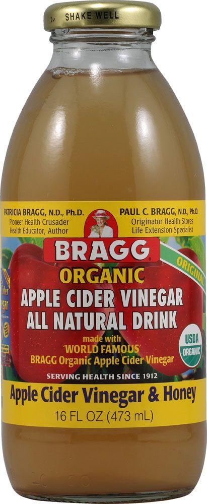 Braggs Apple Cider Vinegar Drink  Bragg Organic Apple Cider Vinegar Drink Honey
