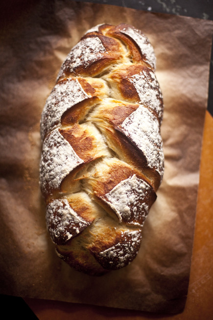 Braided Bread Recipe  Braided Peasant Bread – Artisan Bread in Five Minutes a Day