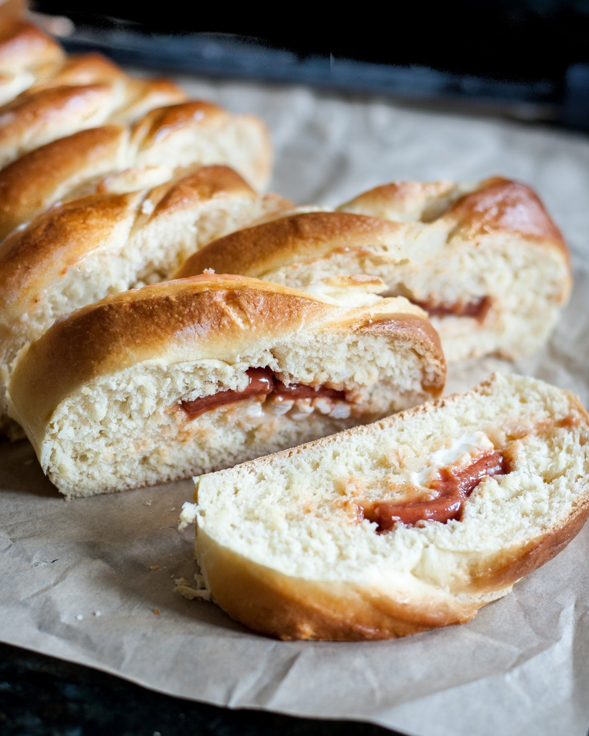 Braided Bread Recipe  Guava Cheese Braided Bread Goo Godmother A Recipe