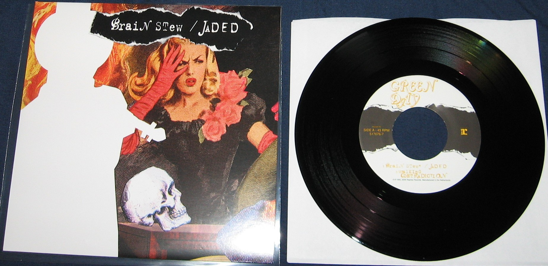 Brain Stew Green Day  Green Day – 21 Singles 7″ Box Set