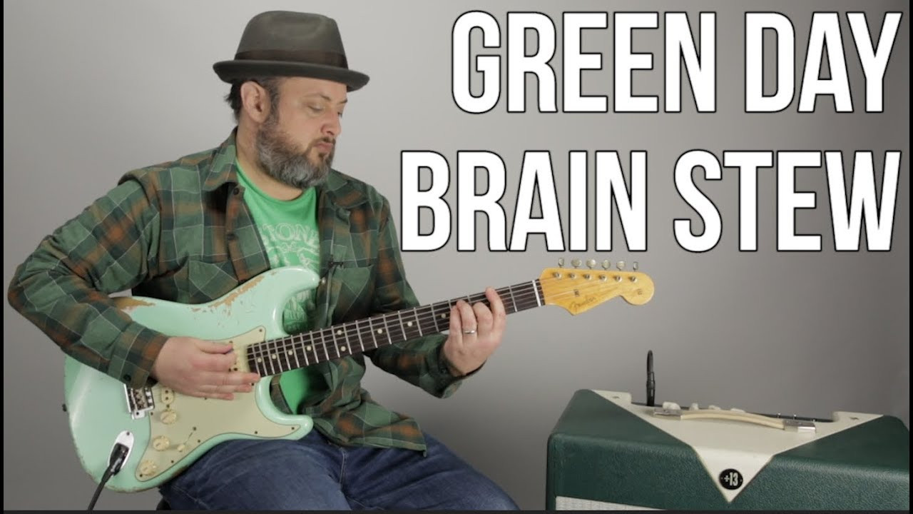 """Brain Stew Green Day  How to Play """"Brain Stew"""" by Green Day on Guitar"""