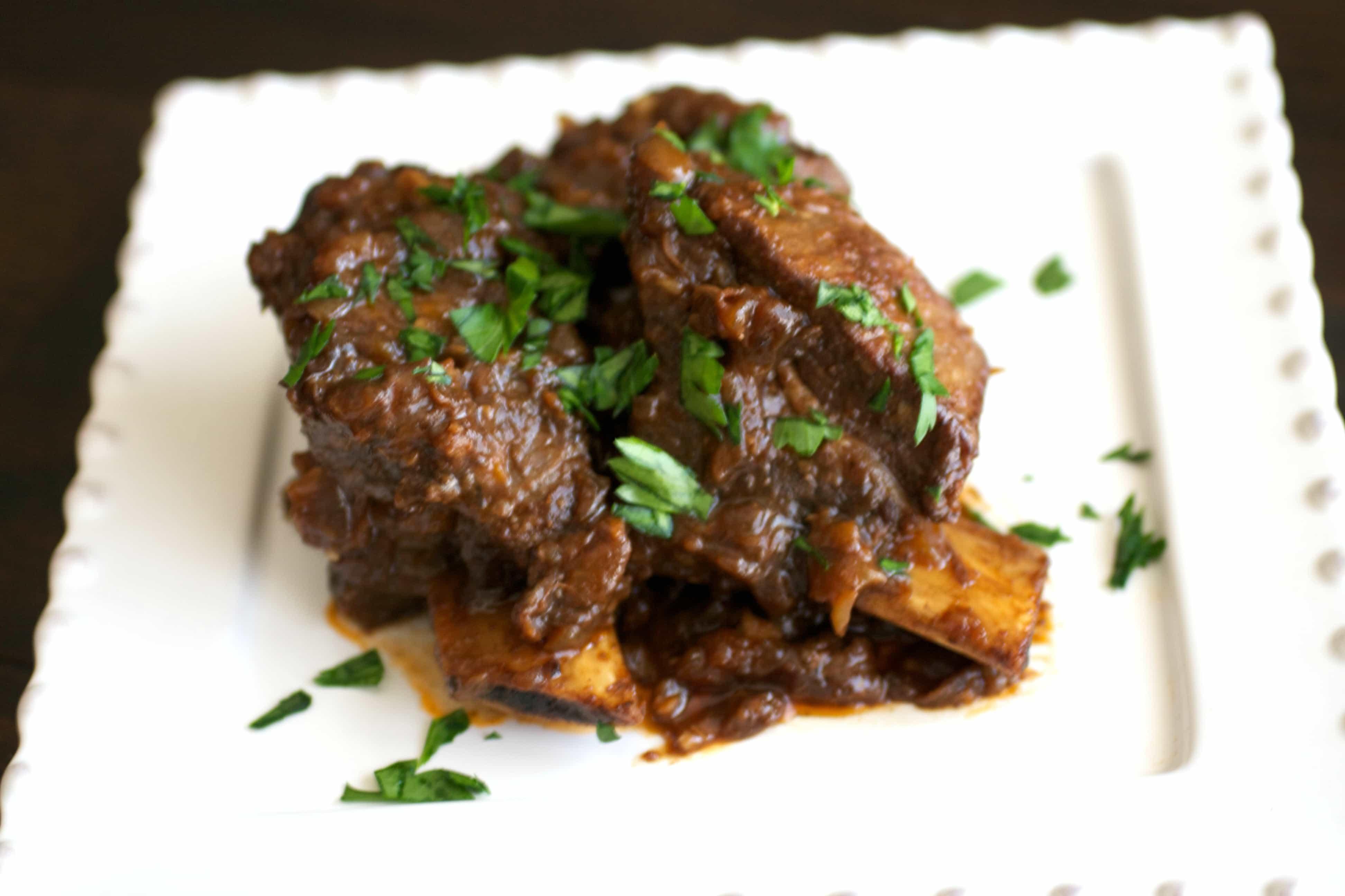 Braised Beef Short Ribs  Easy Tender Braised Beef Short Ribs Slow Cooker Recipe