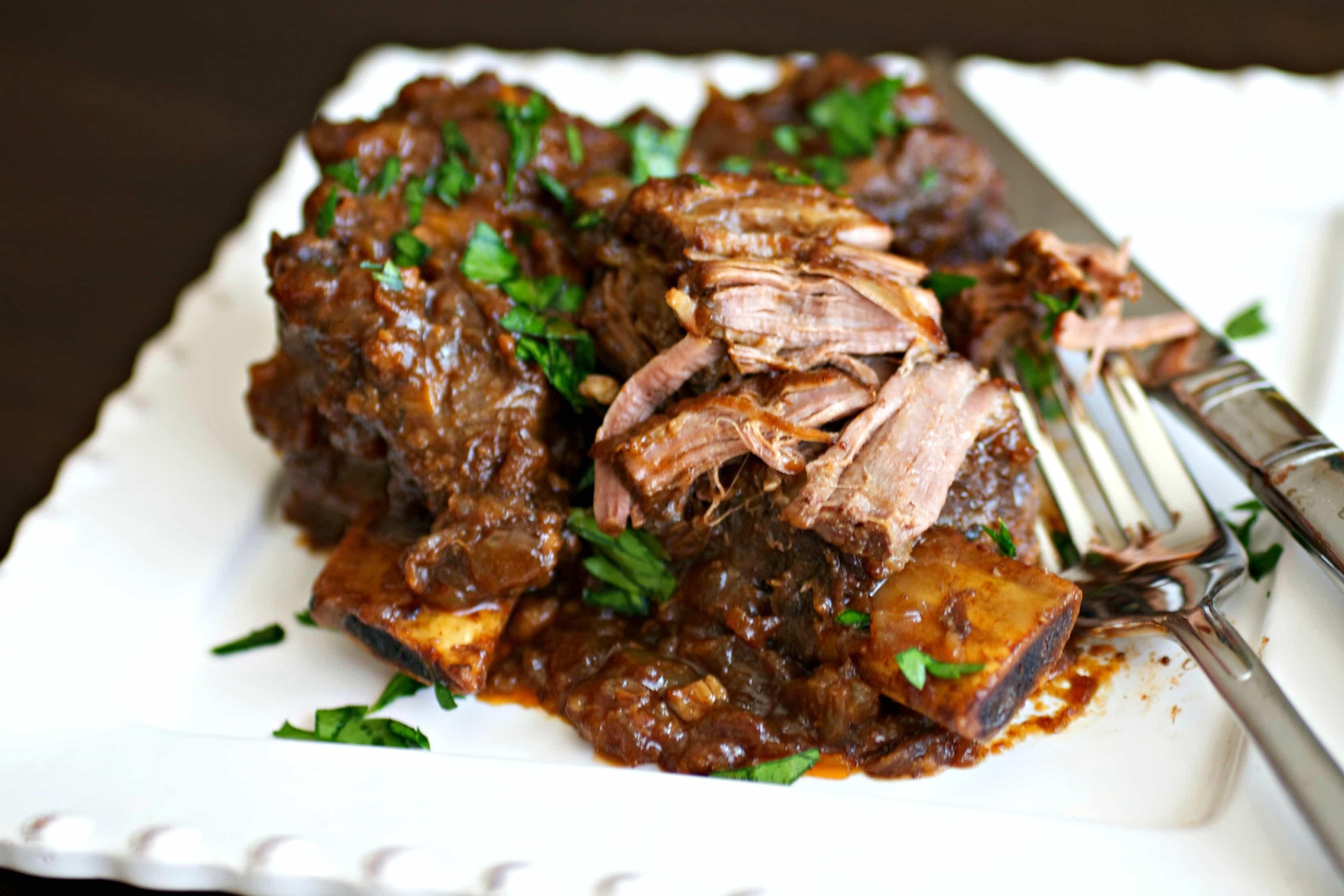 Braised Beef Short Ribs  Braised Beef Short Ribs • Tasty Ever After