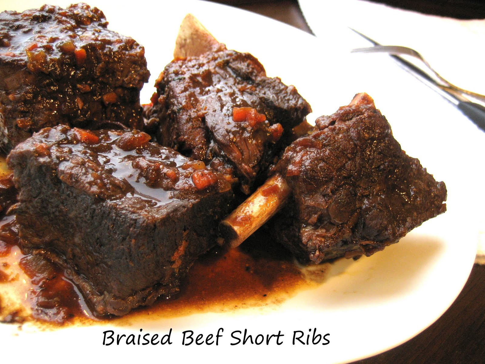Braised Beef Short Ribs  Home Cooking In Montana Braised Beef Short Ribs