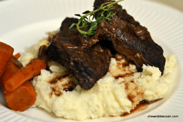 Braised Beef Short Ribs  Braised Beef Short Ribs – Chew Nibble Nosh