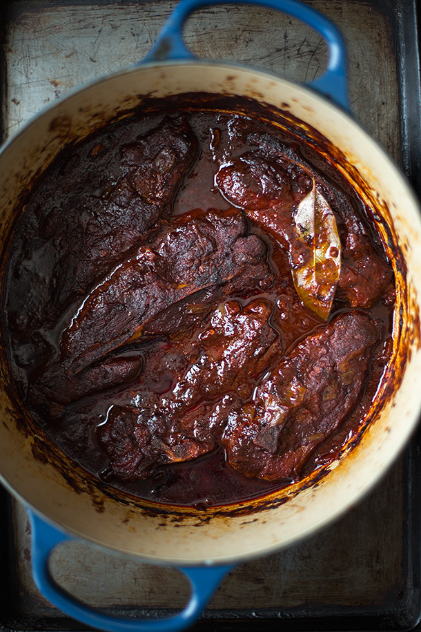 Braised Country Style Pork Ribs  Ancho Chile Braised Country Style Pork Ribs