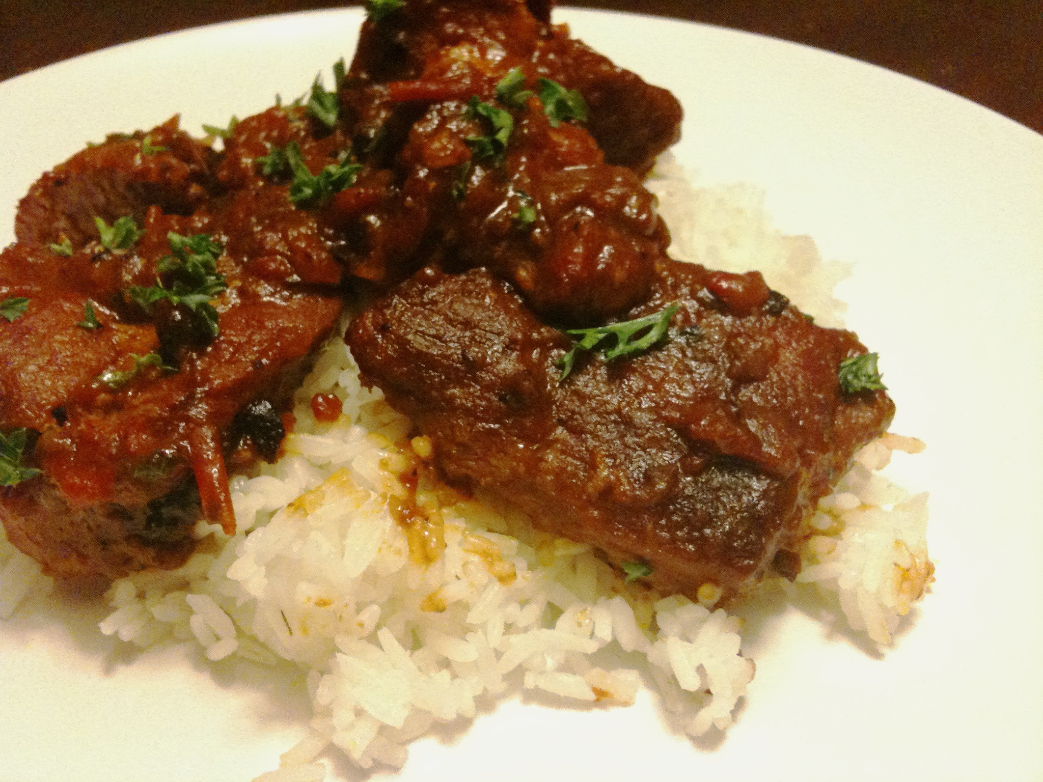 Braised Country Style Pork Ribs  Braised Country Style Pork Ribs