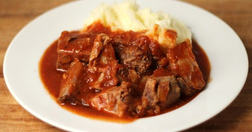 Braised Country Style Pork Ribs  Cookistry Braised Country Ribs in Tomato Sauce