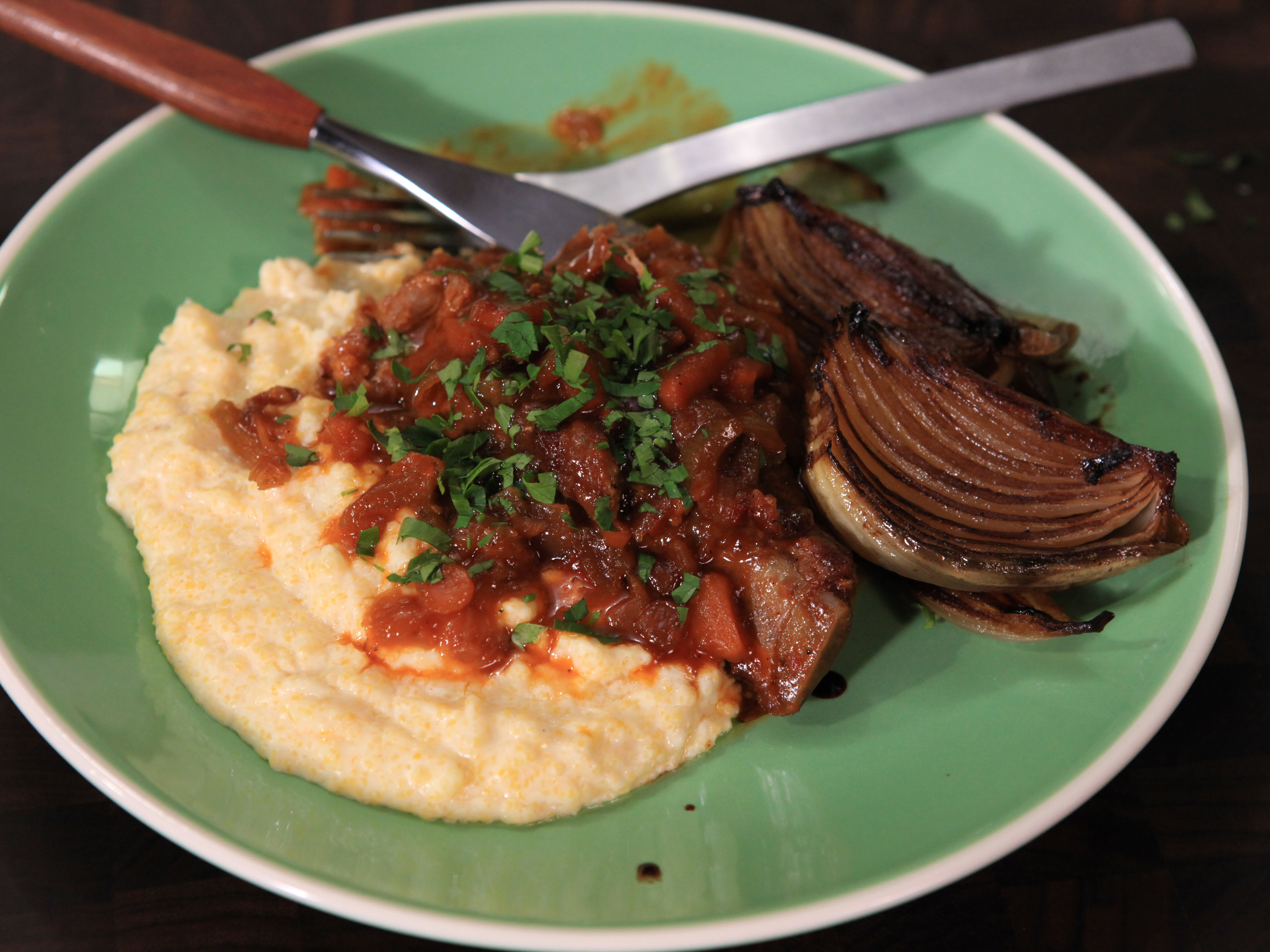 Braised Country Style Pork Ribs  Braised Country Style Pork Ribs Recipe on Snooth Eats