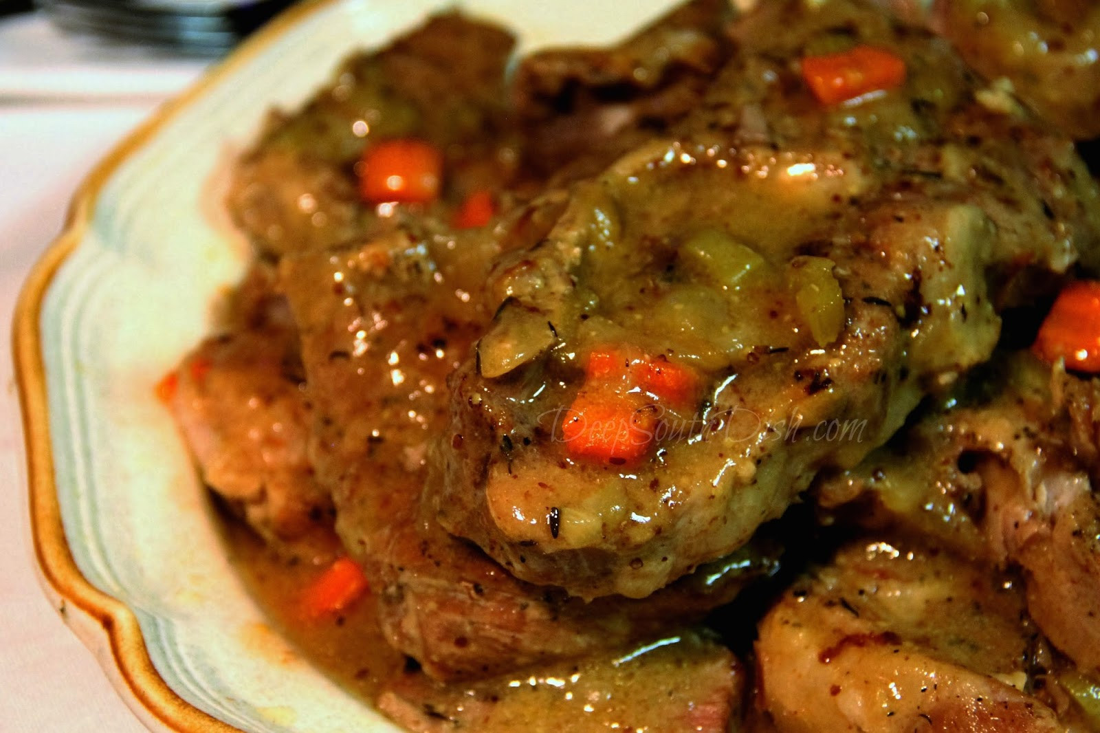 Braised Country Style Pork Ribs  Deep South Dish Slow Braised Country Style Ribs