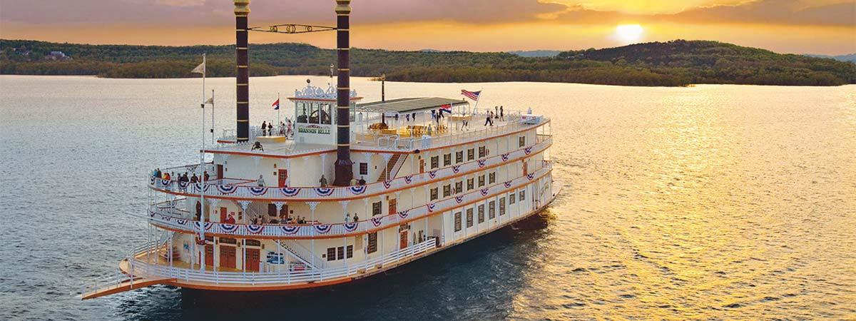 Branson Dinner Cruise  Showboat Branson Belle Tickets