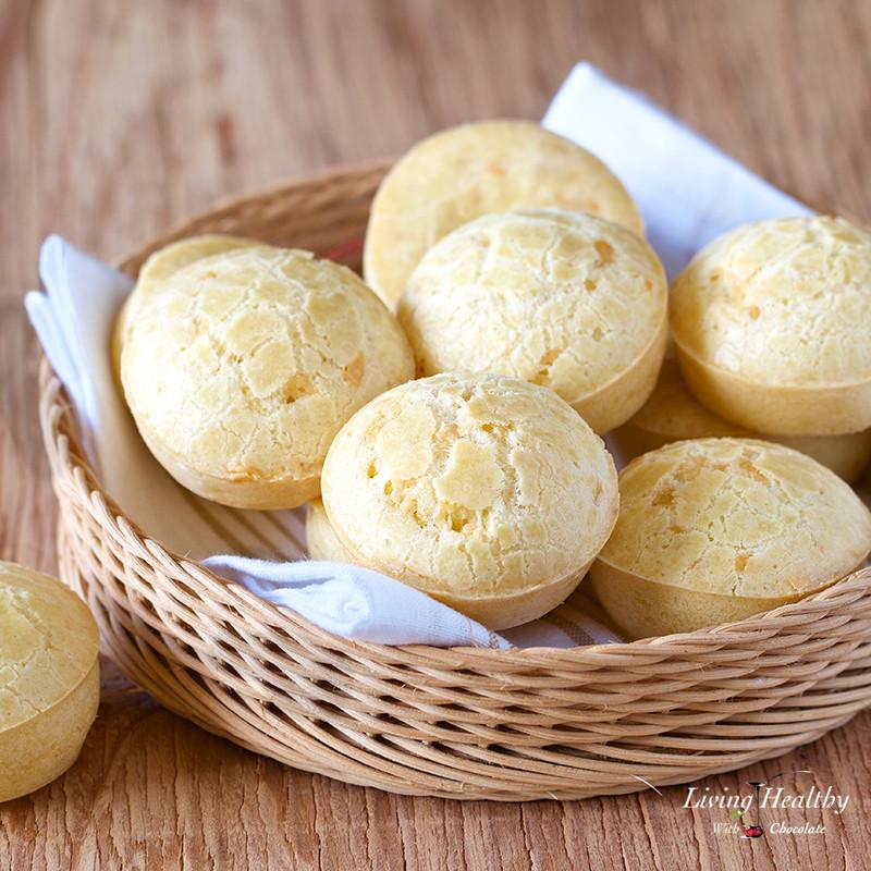 Brazilian Cheese Bread Recipe  Easy Brazilian Cheese Bread Recipe Pão de Queijo