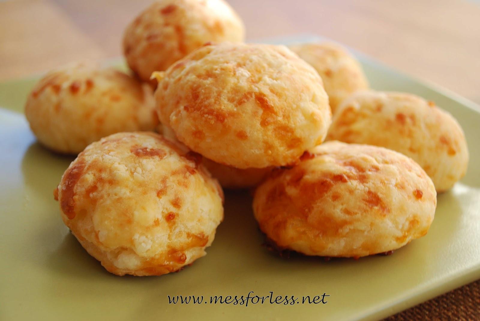 Brazilian Cheese Bread Recipe  Food Fun Friday Pão de queijo Recipe Brazilian Cheese