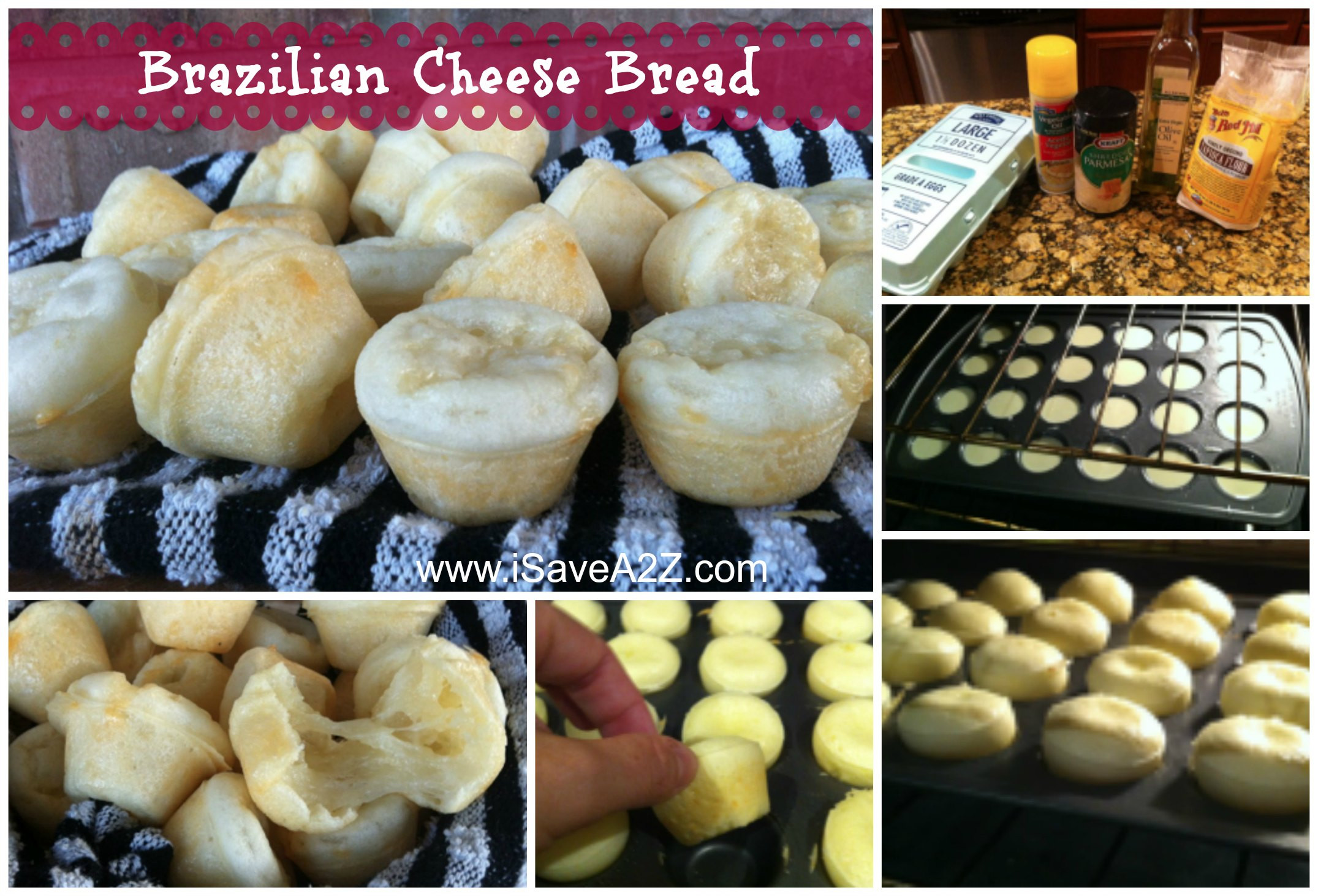 Brazilian Cheese Bread Recipe  Try this amazing Brazilian Cheese Bread recipe