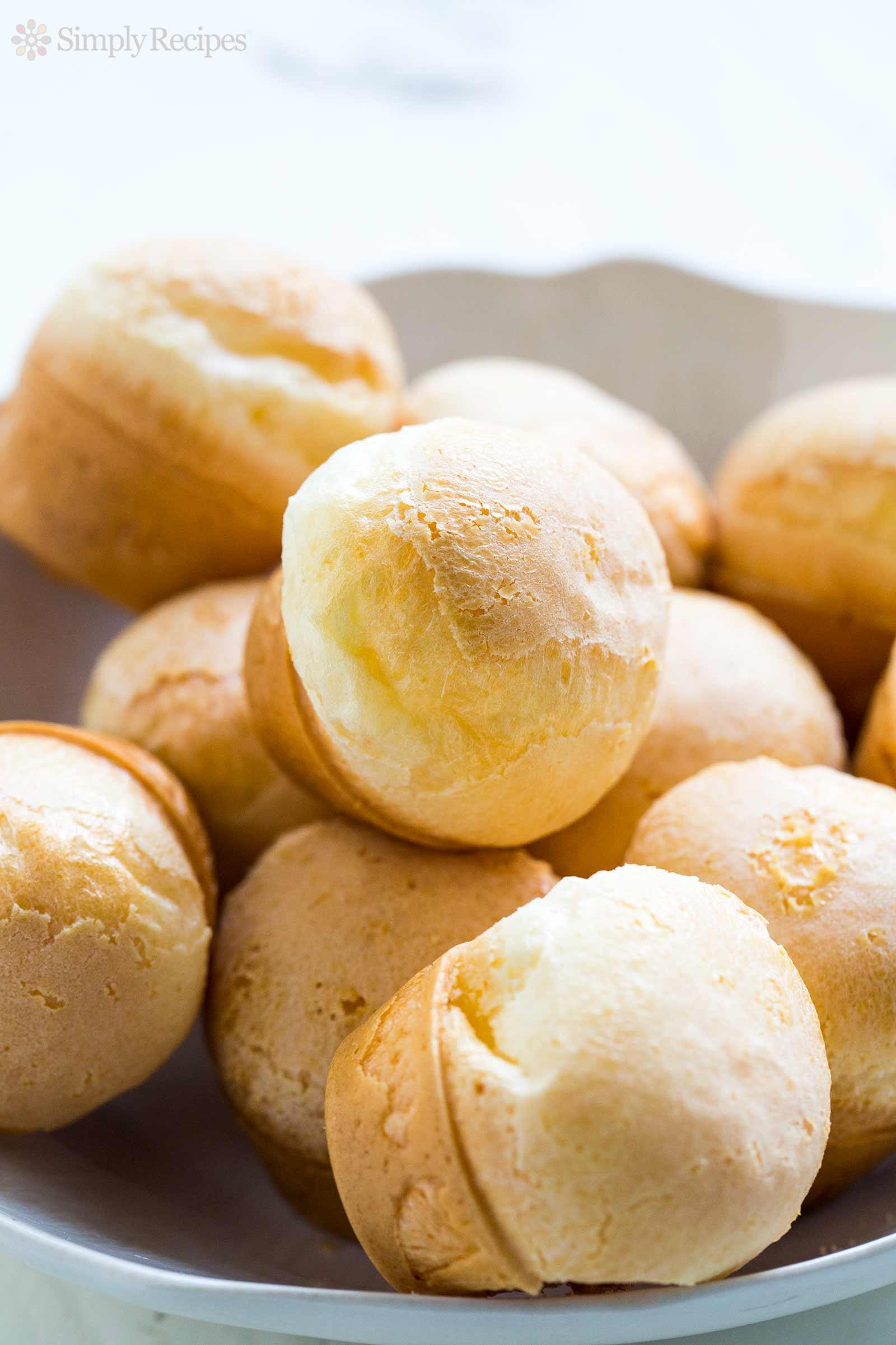 Brazilian Cheese Bread Recipe  Easy Brazilian Cheese Bread Pão de Queijo