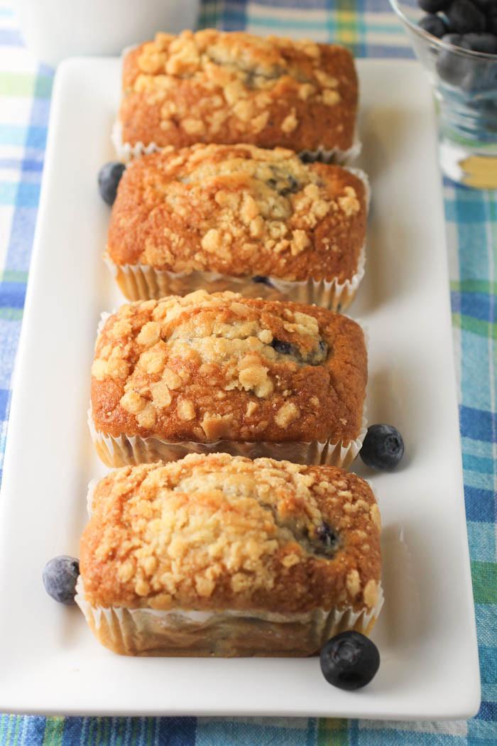 Bread And Breakfast  Blueberry Breakfast Bread