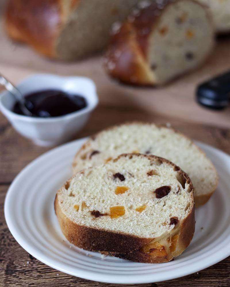 Bread And Breakfast  Apricot Cherry Breakfast Bread