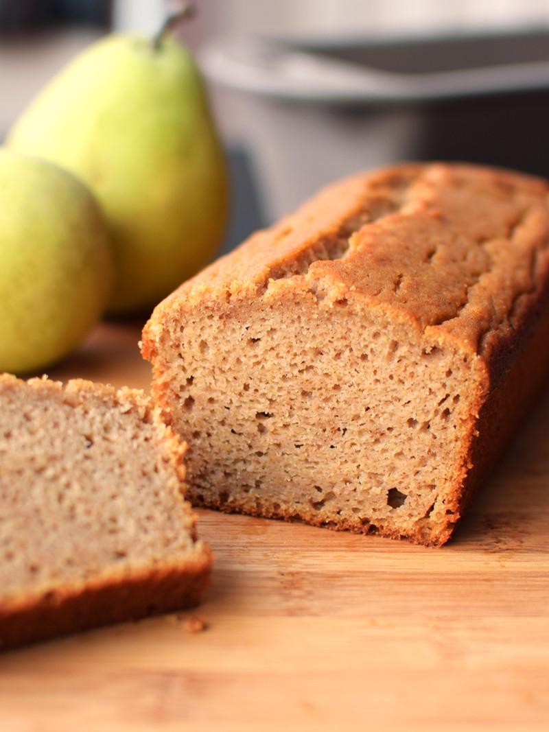 Bread And Breakfast  Spiced Pear Breakfast Bread Recipe Dairy Free