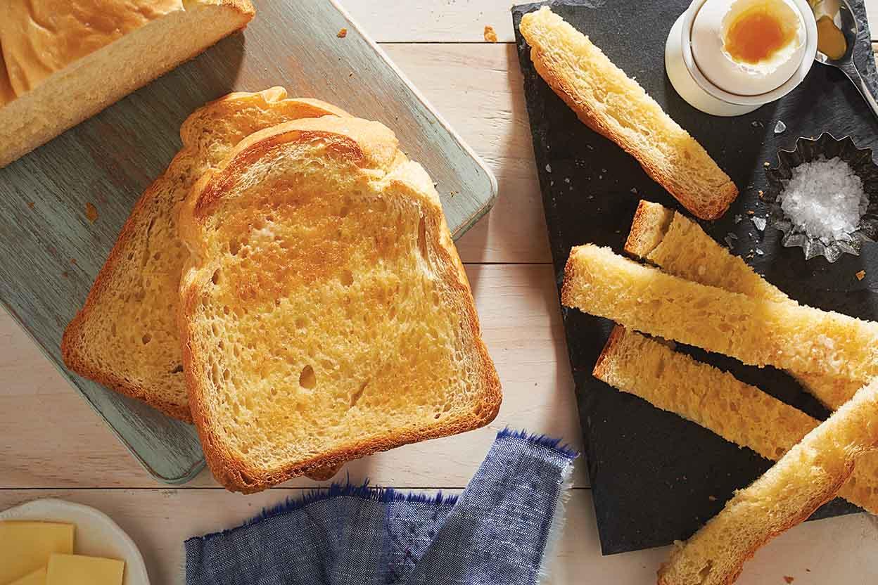 Bread And Breakfast  White Breakfast Bread Recipe