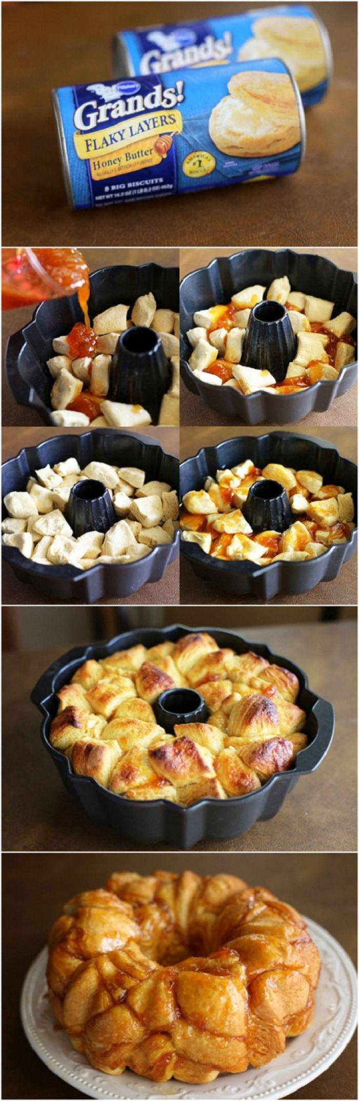 Bread And Breakfast  Breakfast ideas Monkey bread and Breakfast on Pinterest