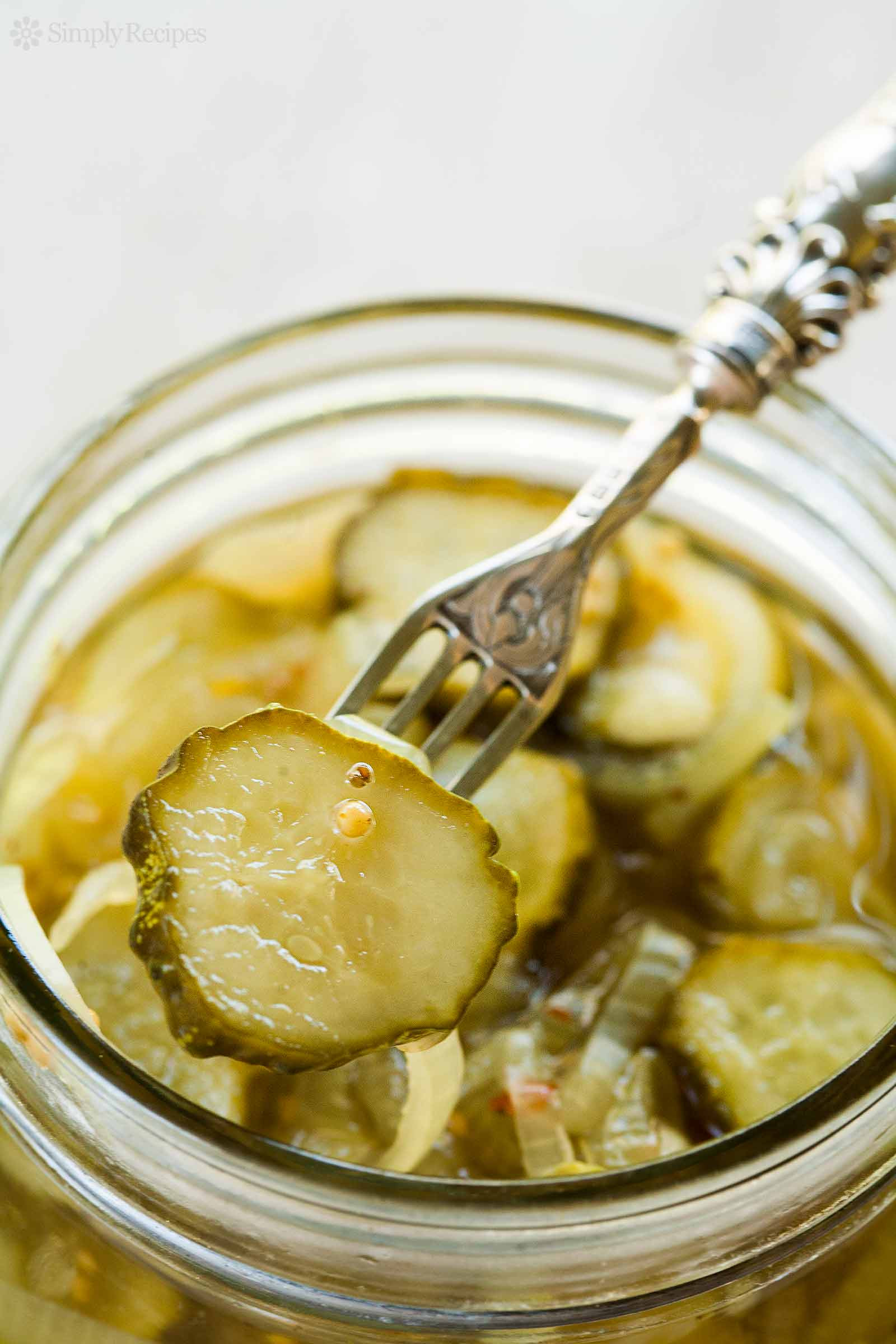 Bread And Butter Pickle Recipe  Bread and Butter Pickles Recipe