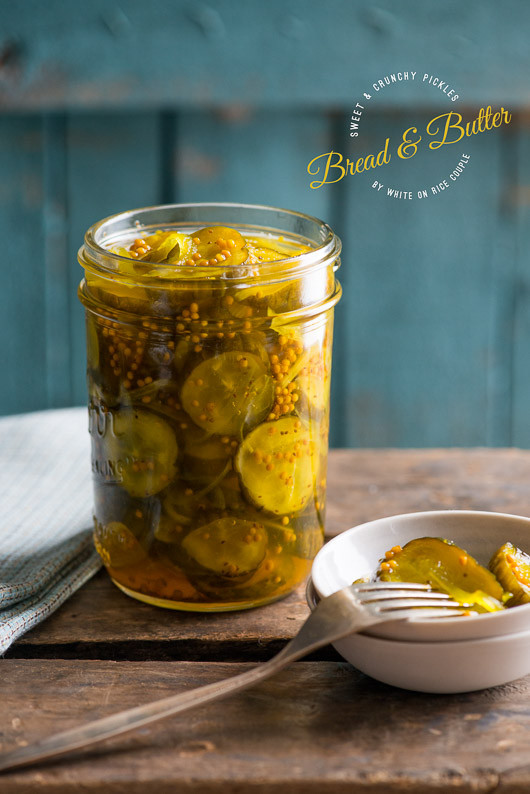Bread And Butter Pickle Recipe  Canning Recipes The Idea Room