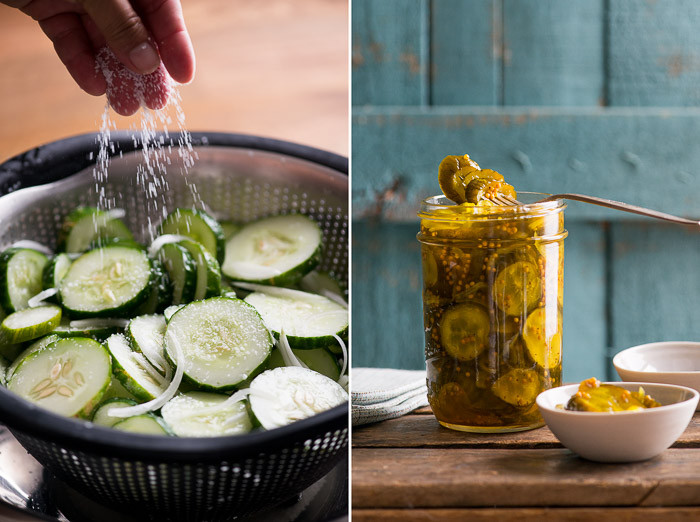 Bread And Butter Pickle Recipes  Bread and Butter Pickles Recipe Sweet Pickles Recipe