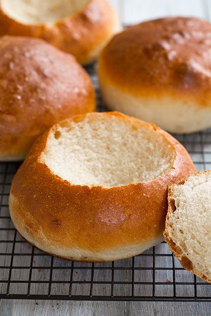 Bread Bowl Recipe  bread bowls for sale